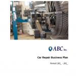 Automotive Repair Business Plan