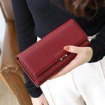 Luxury Women Long Clutch Purse Wallet