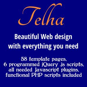 Telha Bootstrap 3 Template Pack